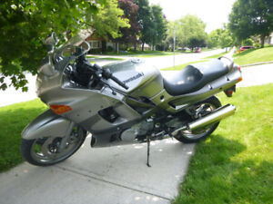 2002 ZX6E (600cc) – Sport Tourer – Excellent condition.