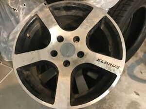 "16"" Winter Rims Elbrus 104 Alloys, Better than Steel. Set of 4"