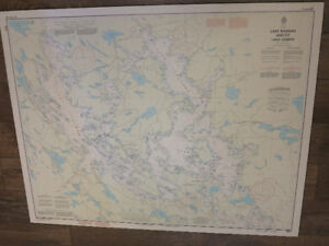 L.Muskoka, L. Joseph and L. Rosseau Navigational Maps