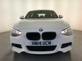 2014 BMW 116D M SPORT DIESEL £30 ROAD TAX LEATHER SEATS 1 OWNER SERVICE HISTORY