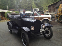 1923 Model T Ford Touring