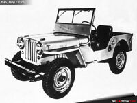 wanted >>1940s +?  jeep  modelCJ-2A-or 6x6 deuce/half