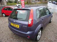 FORD FIESTA 1.4 zetec climate 2008 Petrol Manual in Purple