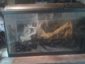 Used Aquariums, filters, and accessories