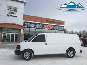 2012 Chevrolet Express Cargo Van   ACCIDENT FREE, LOW KMS, A/C