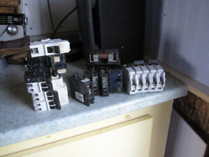 Electrical Breakers assorted