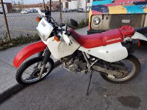 Honda XR650L 2012