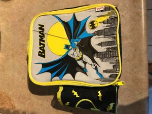 Batman bag with lunch box and water bottle only $10