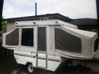 Looking for pop up trailer in good shape