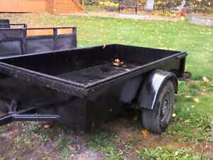 all steel 4x8 well built Utility trailer