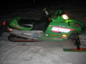 VERY RARE 02 ZR 440 SNOPRO FIRECAT