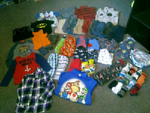Toddler size 4t clothing LOT SALE 67 ITEMS $85 TAKES