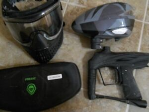 GoG Envy Paintball Marker and upgrades