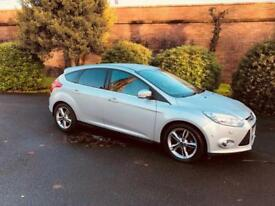 2013 Ford Focus Titanium X Navigator 1.6TDCi, Sat Nav, AUTO PARK, Heated Leather