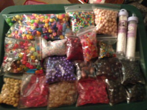 Beads and other craft items