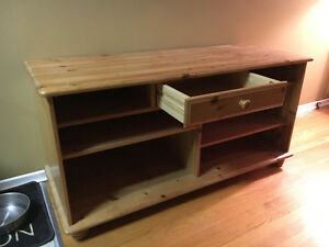 TV stand - wood Kitchener / Waterloo Kitchener Area image 2