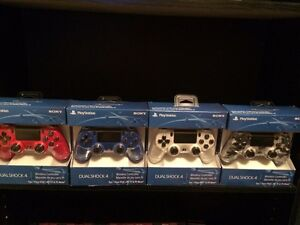 Ps4 controllers $50 firm new factory sealed