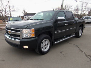 2013 CHEVROLET SILVERADO 1500 CREW LTZ 4X4 !! LEATHER !! NAV !!