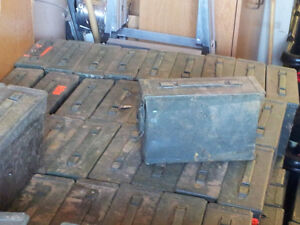 ARMY STEEL AMMO CANS