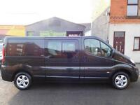 Vauxhall Vivaro LWB 2.0 CDTi 115 sport 6 seat factory fitted crew cab van (10)