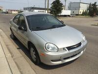 2002 Dodge Neon Sedan * LOW KMs *