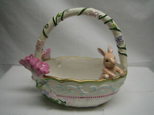Ceramic Easter Basket (Avon)