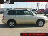 2002 Toyota Highlander V6 AWD  - Low Mileage