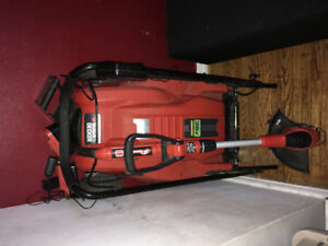 Black and Decker 36v cordless lawn mower + 18 cordless trimmer!