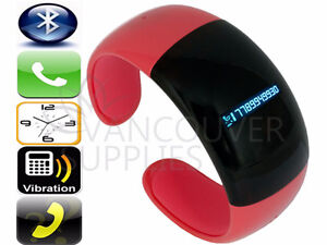 Watch Bluetooth Vibrating Bracelet Mobile Phone Call Number