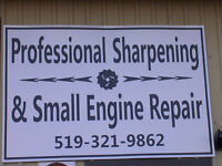 Professional Sharpening and Small Engine Repairs