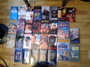 30 VHS 30 FOR 3$ LIKE 10CENTS EACH