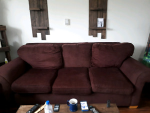 Couch and loveseat set - must go! Make an offer
