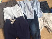 Baby boys bundle - 37 items