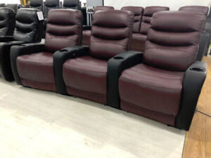recliners, couch, condo size furniture, high end recliners