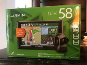 Garmin nuvi 58 LM GPS-Special Edition with Air Vent Mount