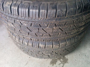 (2) x COOPER DISCOVERER ALL SEASON LOOSE TIRES - 265/65/18