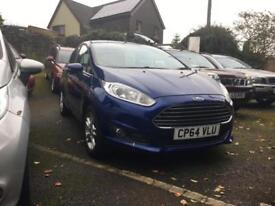 FORD FIESTA 1.5TDCi ( 75ps ) 2014.5MY Zetec in blue 5 door.full Ford S/history
