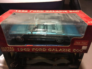 1963 FORD GALAXIE 500 CONVERTIBLE BLUE SUN STAR 1:18