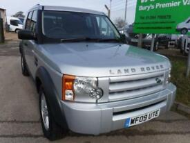 Land Rover Discovery 3 2.7 TD V6 Panel Van 5dr DIESEL MANUAL 2009/09