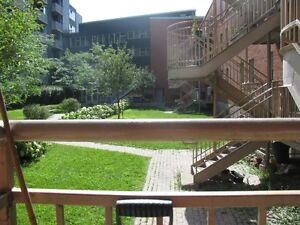 4 bedrooms and 1 1/2 bathroom condo located in the heart of NDG