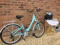 Giant ladies hybrid bike altura pannier plus essential items