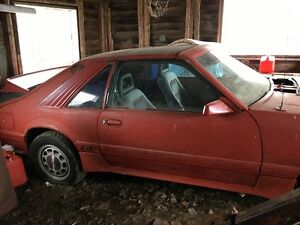 1985 Ford Mustang Hatchback