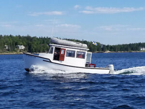 25' Pleasure Boat Equipped With 2006 Honda BF 90 Outboard