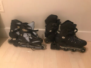 Men's and Women's Roller Blades