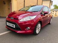 2009 FORD FIESTA TITANIUM 120 Ti VCT HOT MAGENTA FULL EXTERIOR BODY STYLING