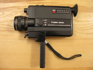 Canon 310XL  super 8mm Camcorder  super 8 film cartridges