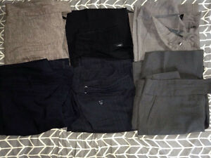 6 pairs of dress pants size 7/8