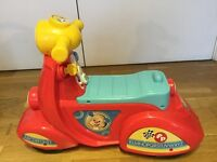 Fisher price scooter