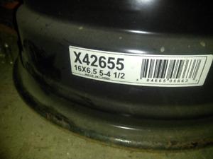 """5x114.3 Steel Rims/ winters 16"""""""