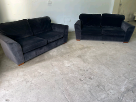 Next fabric 3+2 seater sofas couches suite 🚚🚚